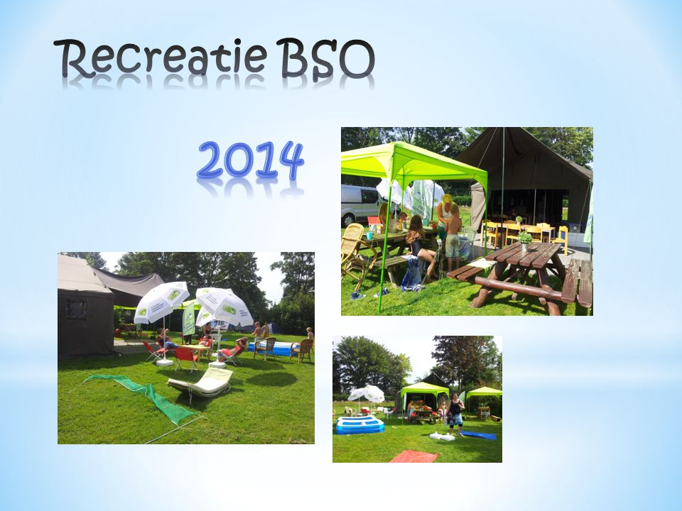 Recreatie BSO 2014