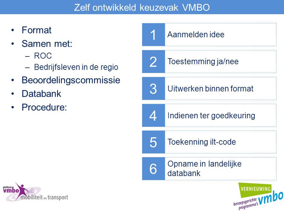 Zelf ontwikkeld keuzevak VMBO