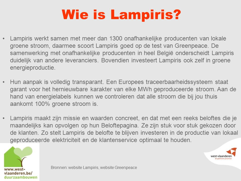 Wie is Lampiris