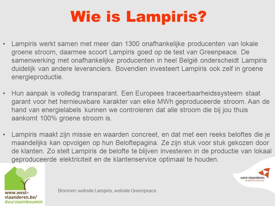 Wie is Lampiris