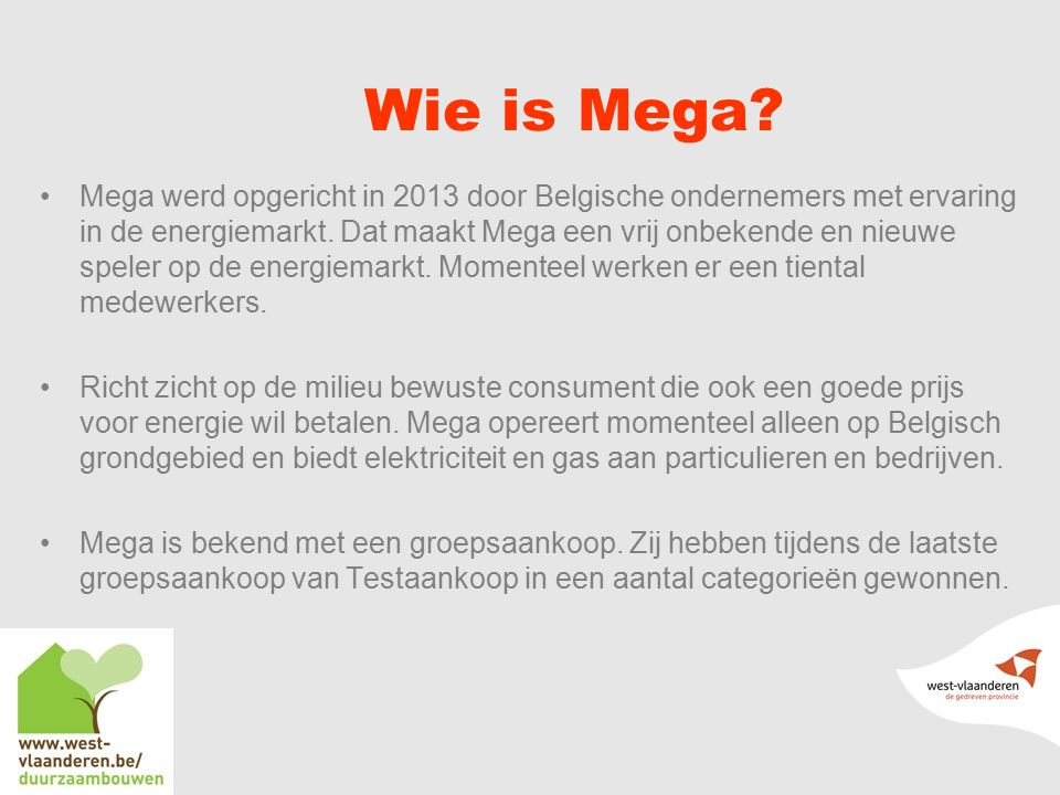Wie is Mega