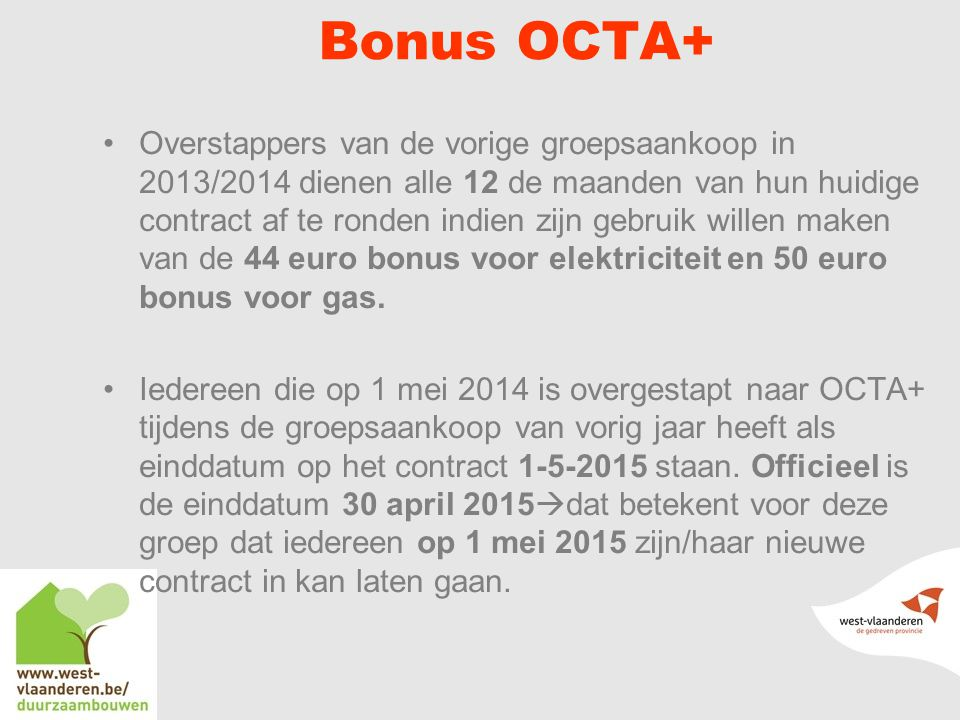 Bonus OCTA+