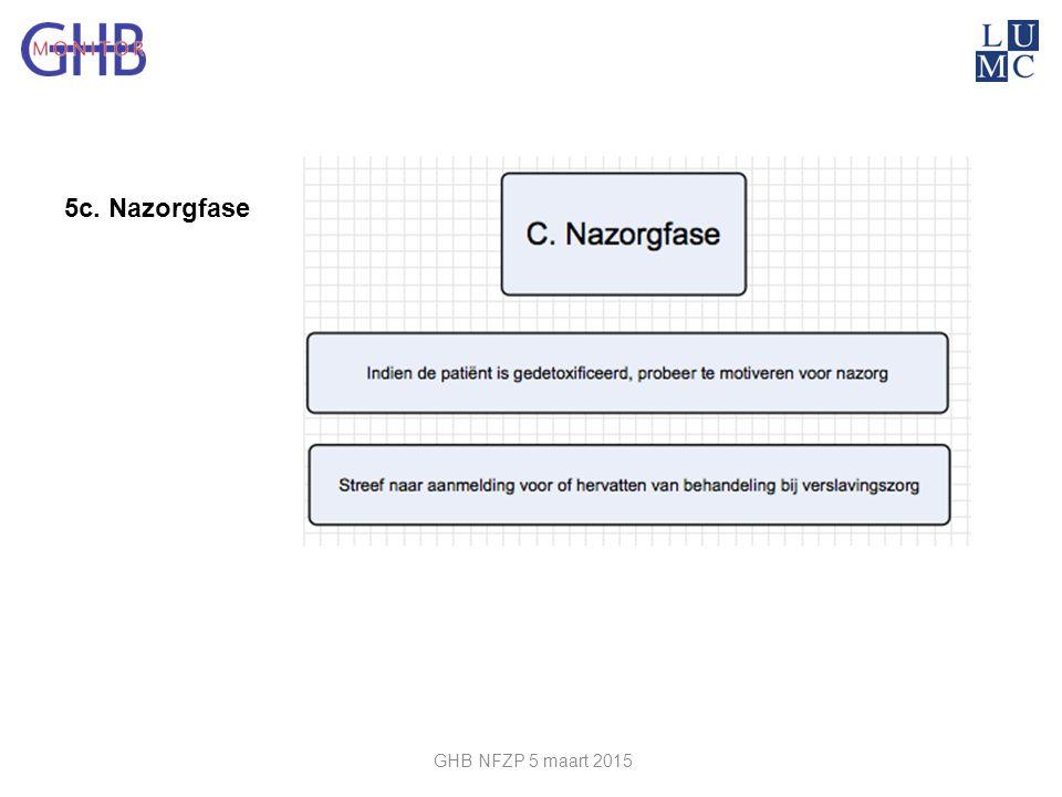 5c. Nazorgfase GHB NFZP 5 maart 2015