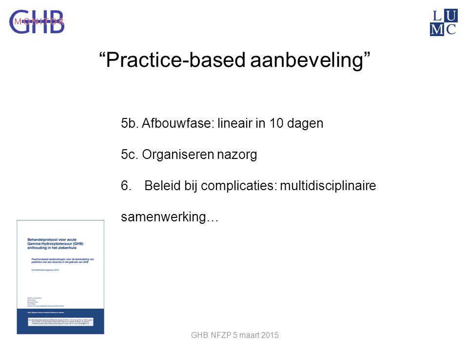 Practice-based aanbeveling
