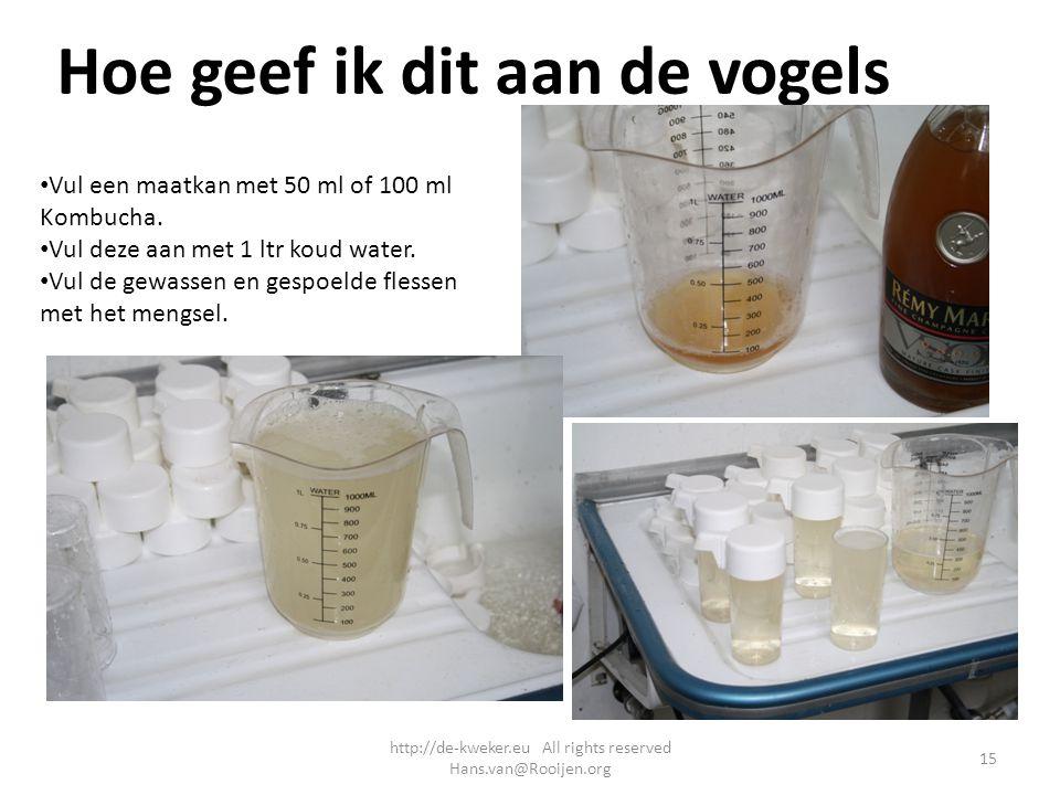 http://de-kweker.eu All rights reserved Hans.van@Rooijen.org