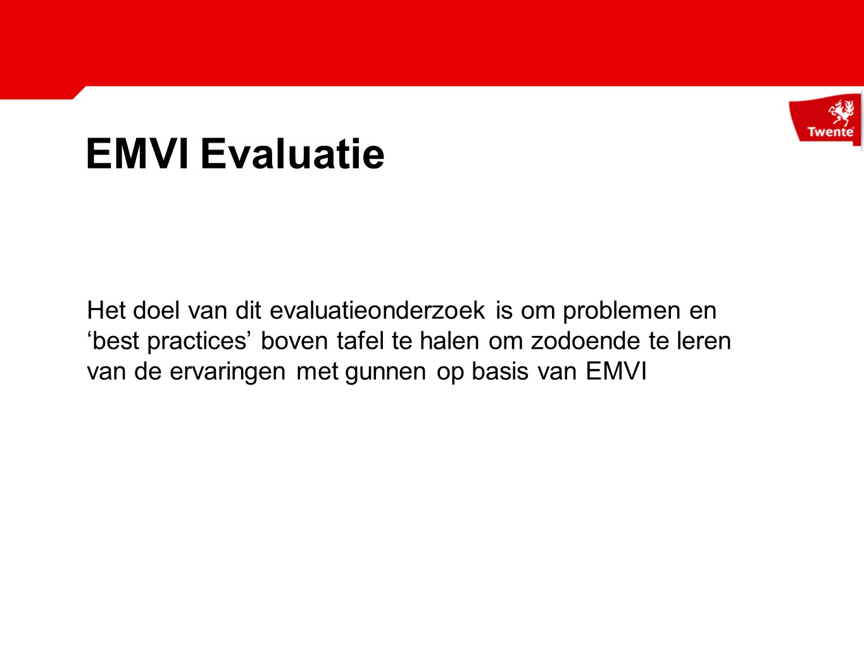 EMVI Evaluatie