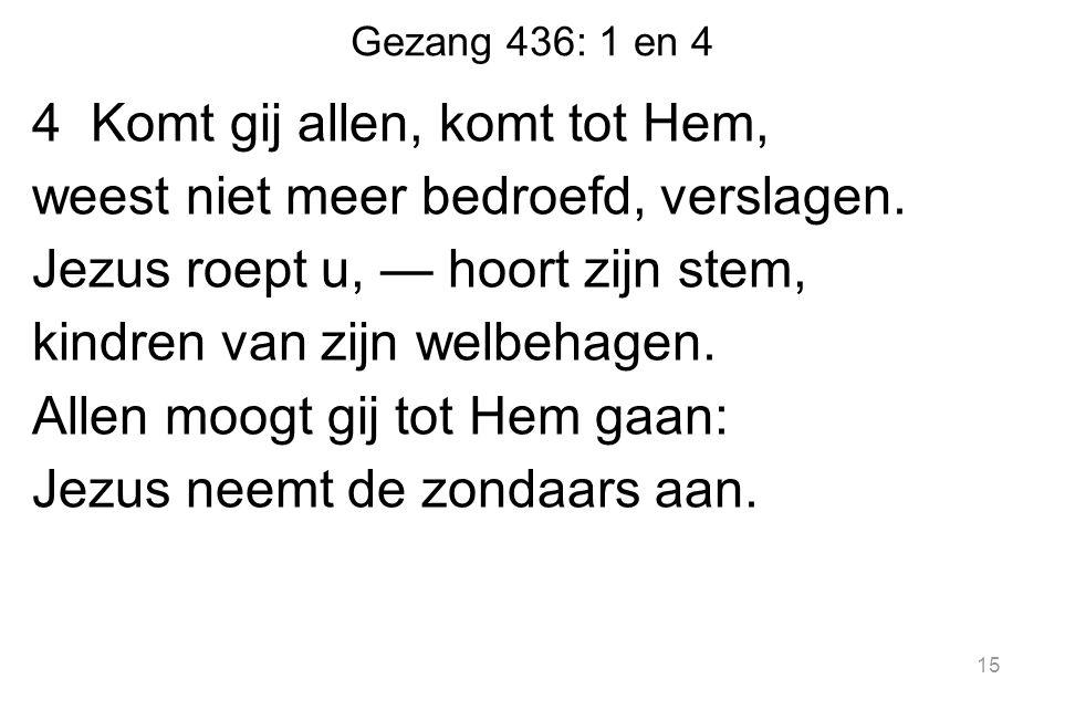 Gezang 436: 1 en 4