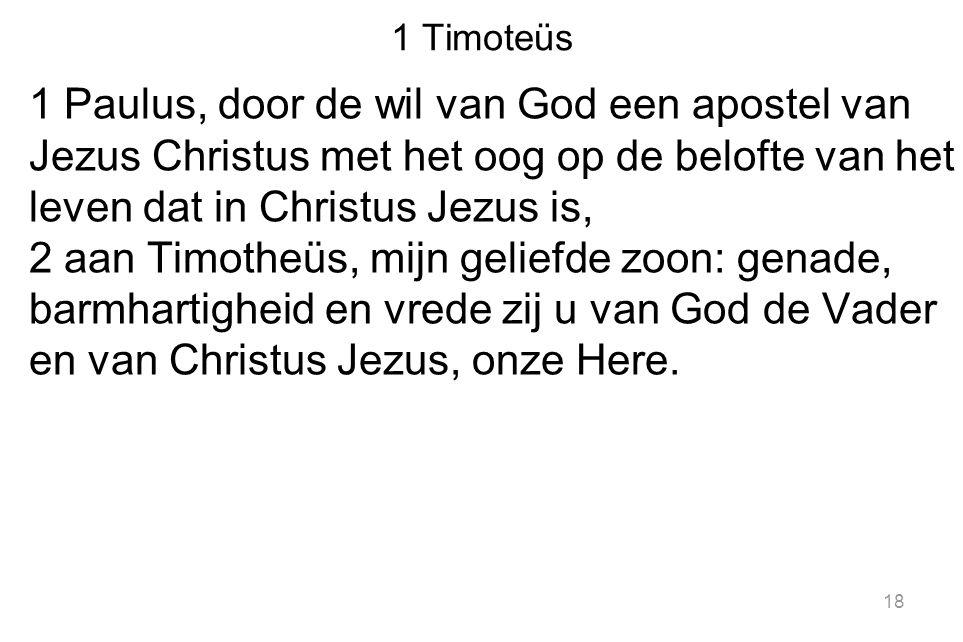 1 Timoteüs