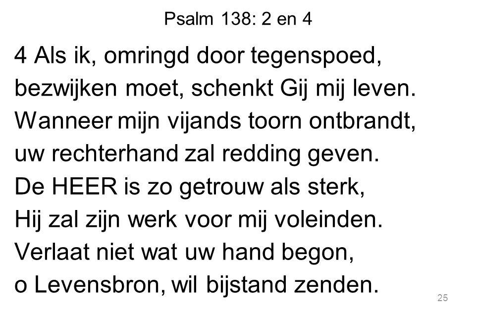 Psalm 138: 2 en 4