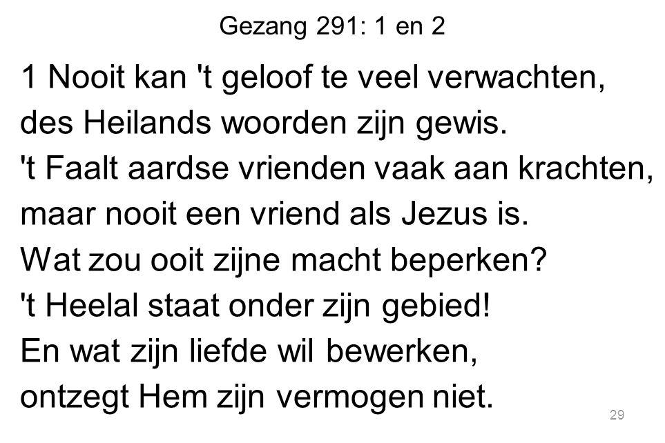 Gezang 291: 1 en 2