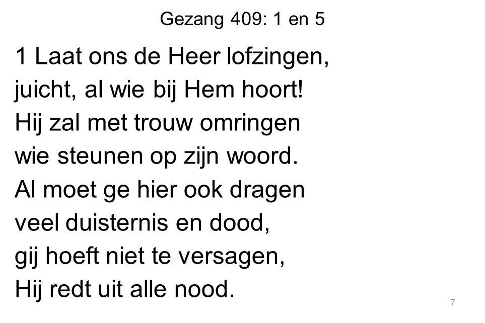 Gezang 409: 1 en 5