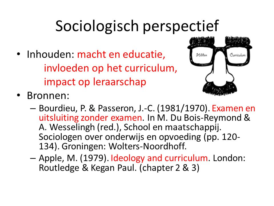 Sociologisch perspectief