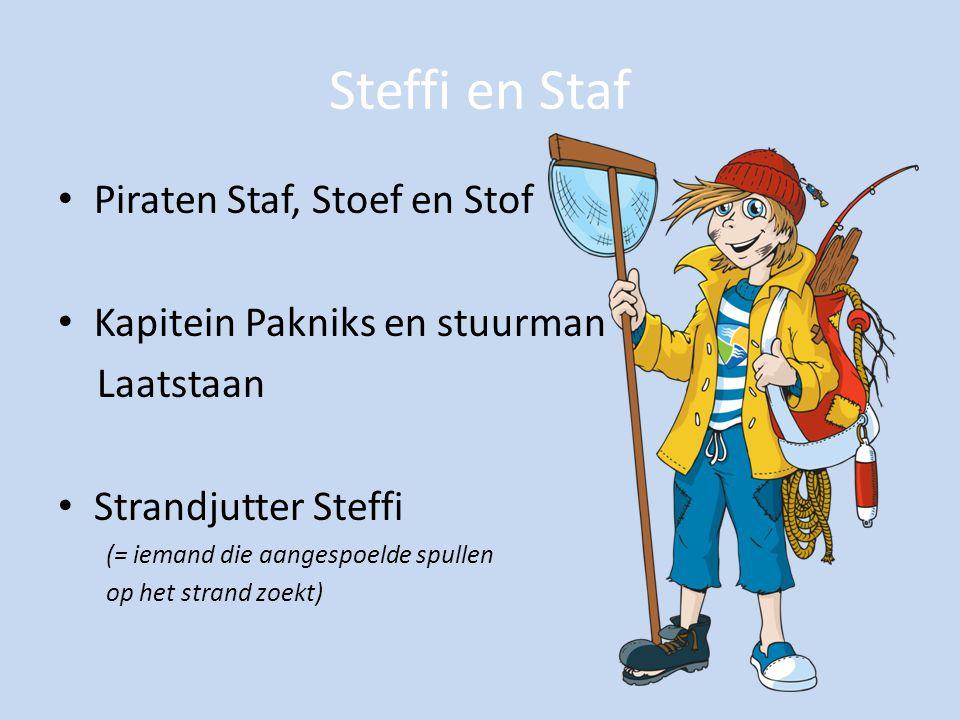 Steffi en Staf Piraten Staf, Stoef en Stof