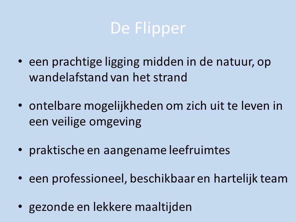 De Flipper een prachtige ligging midden in de natuur, op wandelafstand van het strand.