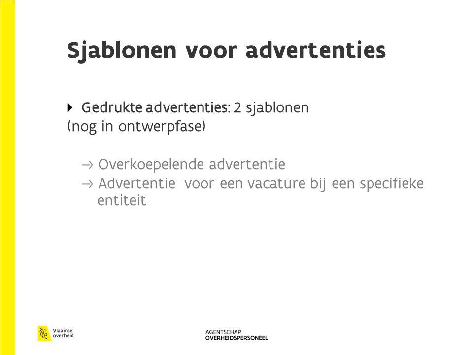 Sjablonen voor advertenties