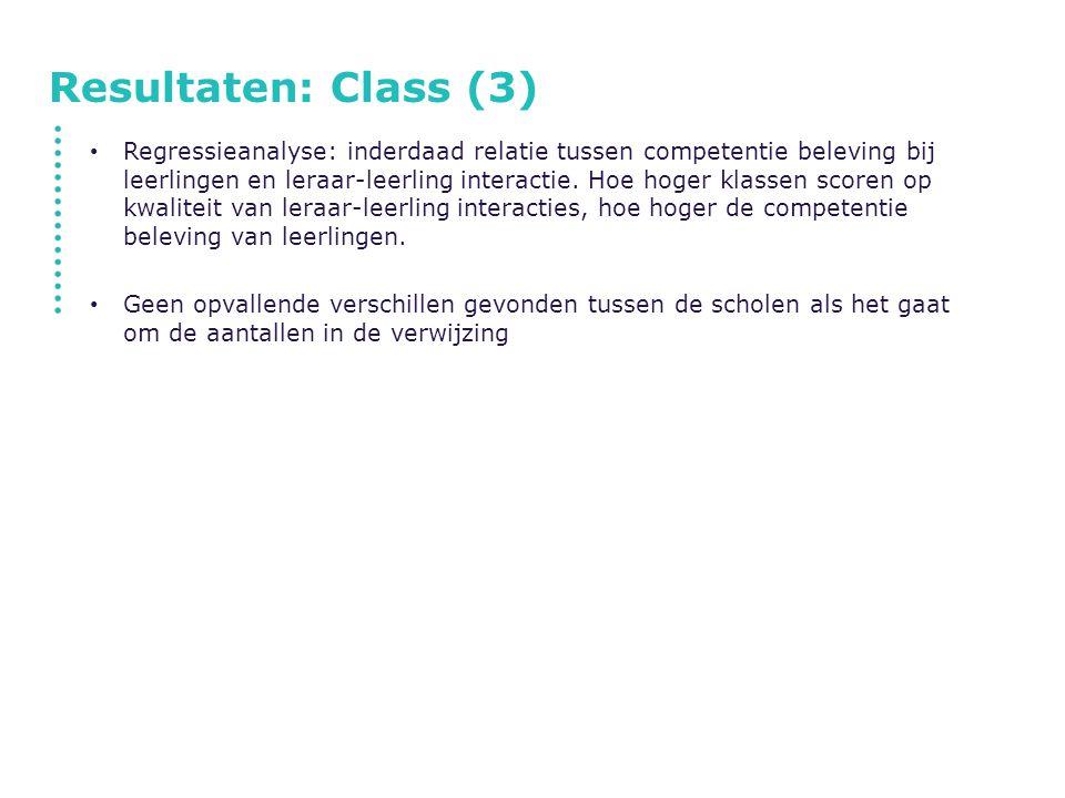 Resultaten: Class (3)