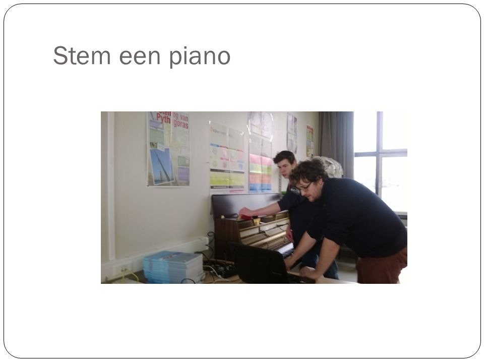 Stem een piano