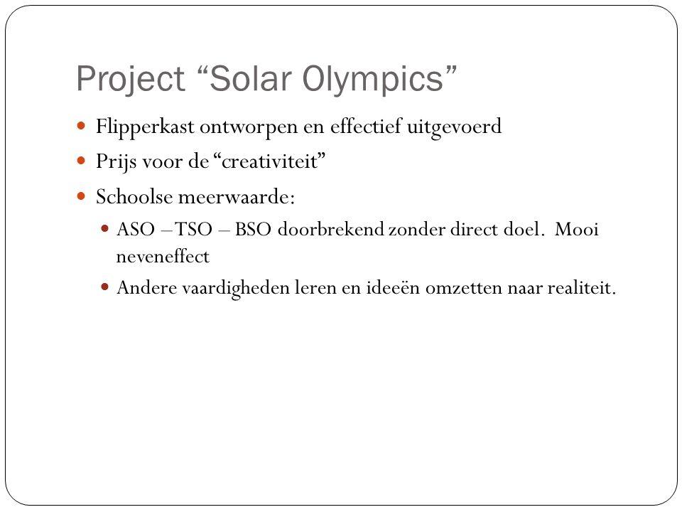 Project Solar Olympics