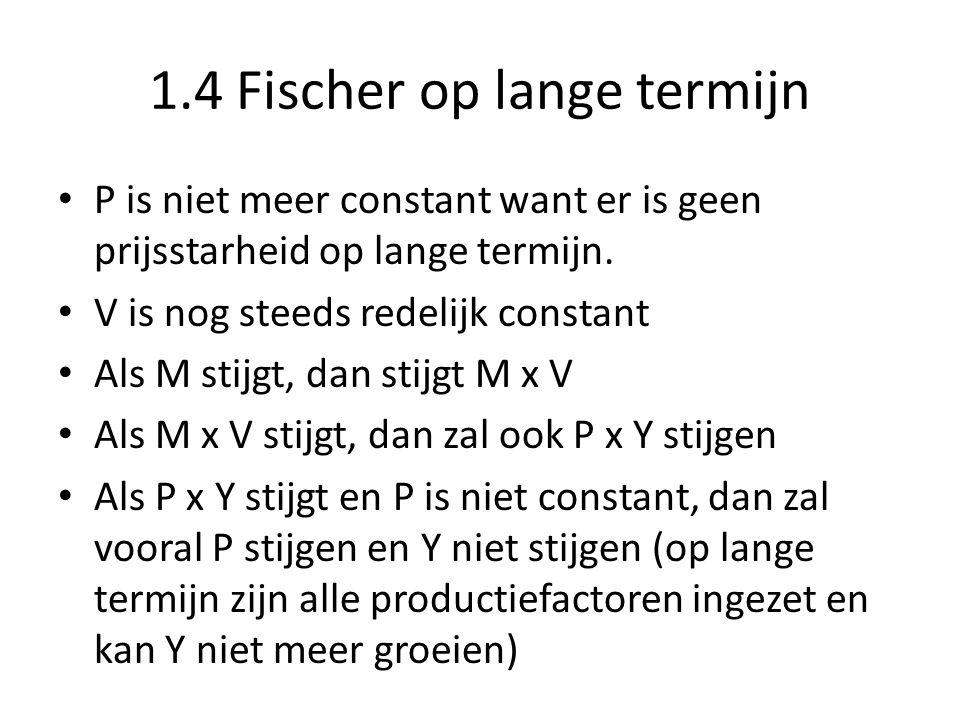 1.4 Fischer op lange termijn