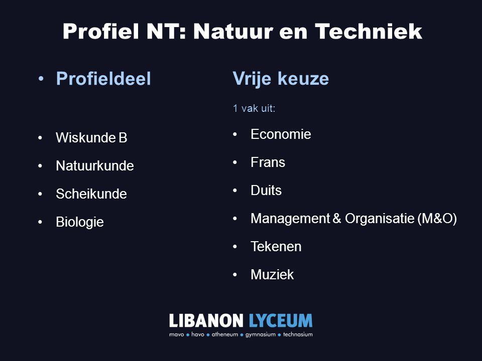 Profiel NT: Natuur en Techniek