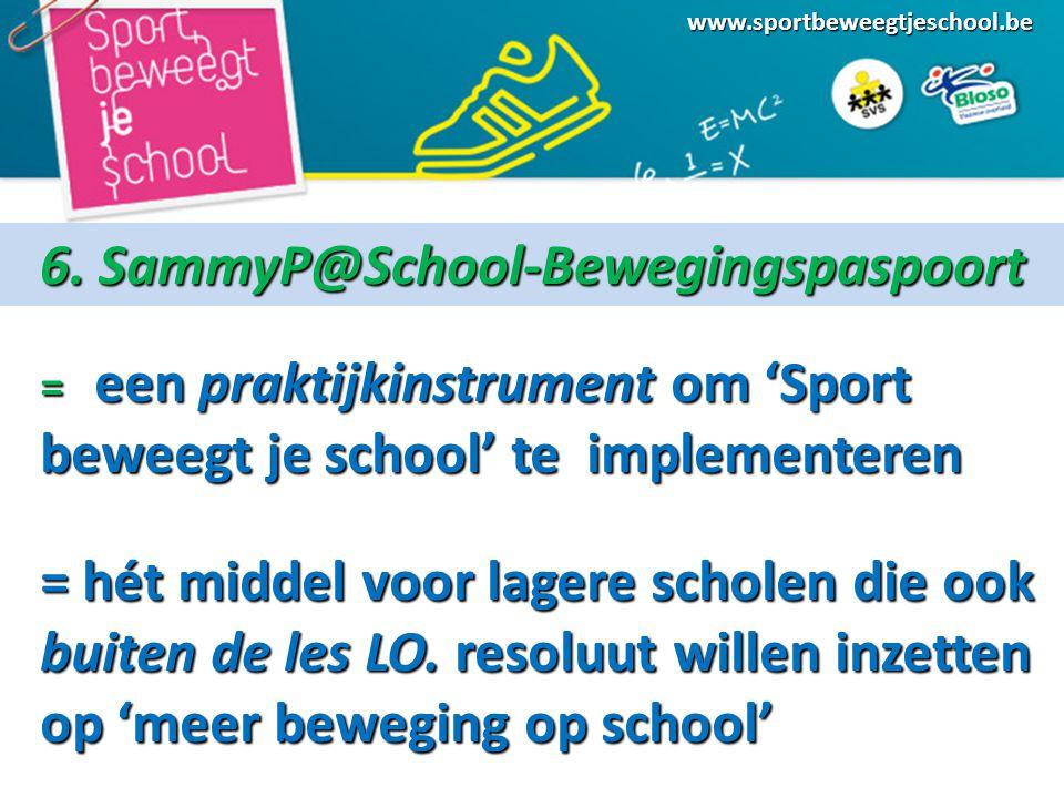 6. SammyP@School-Bewegingspaspoort