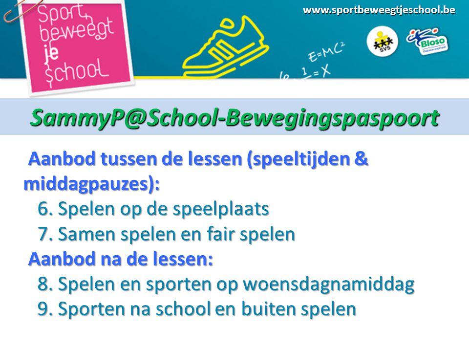SammyP@School-Bewegingspaspoort