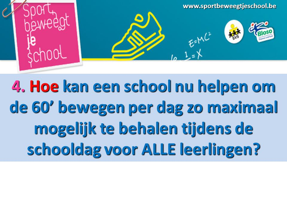 www.sportbeweegtjeschool.be