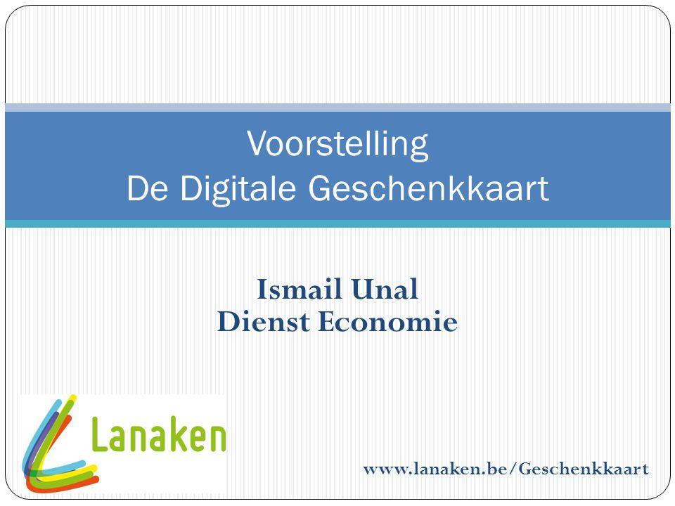 Voorstelling De Digitale Geschenkkaart