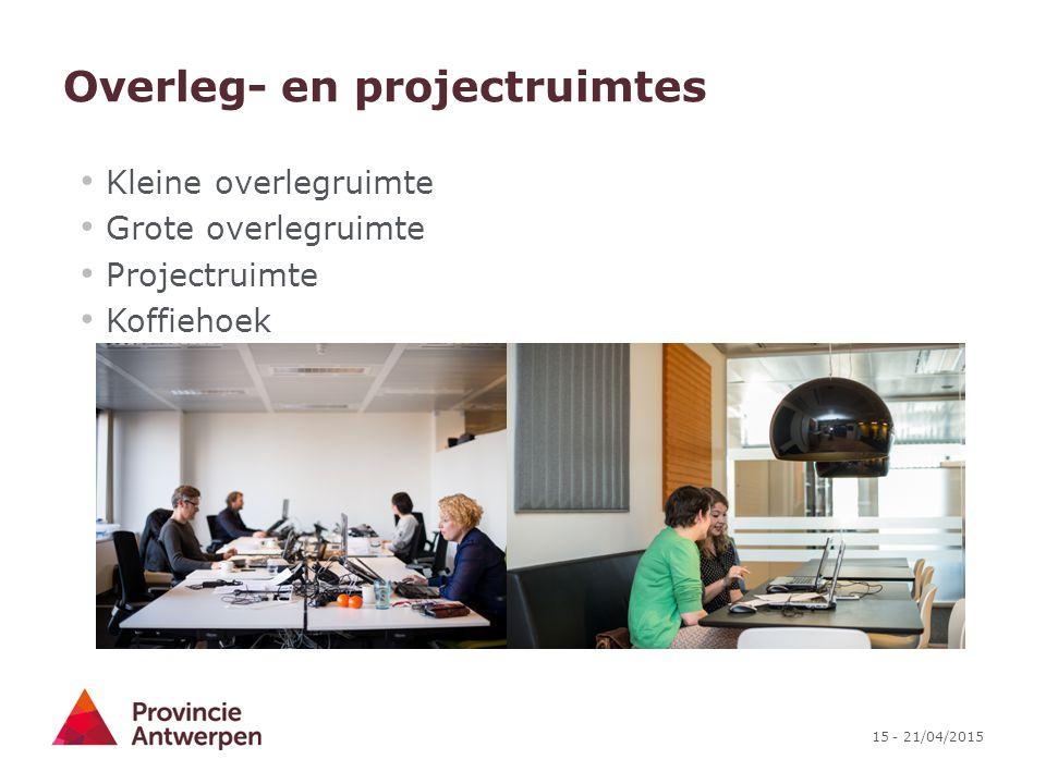 Overleg- en projectruimtes