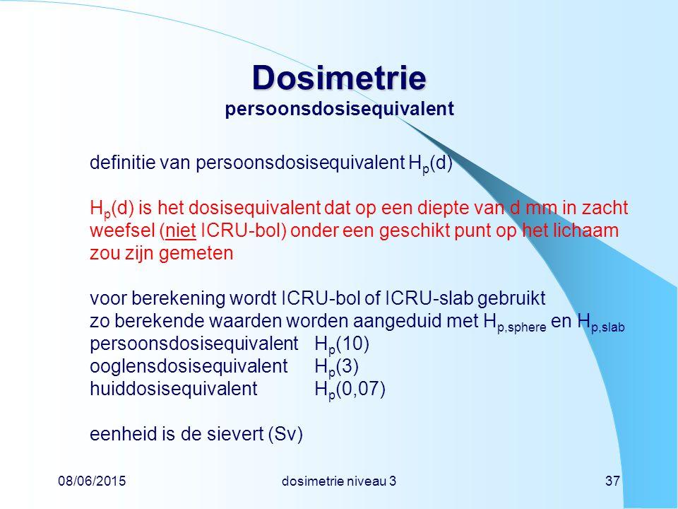 Dosimetrie persoonsdosisequivalent