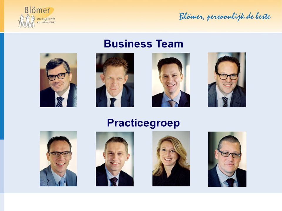 Business Team Practicegroep