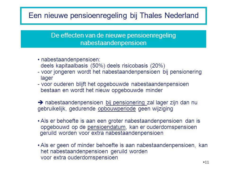 De effecten van de nieuwe pensioenregeling nabestaandenpensioen