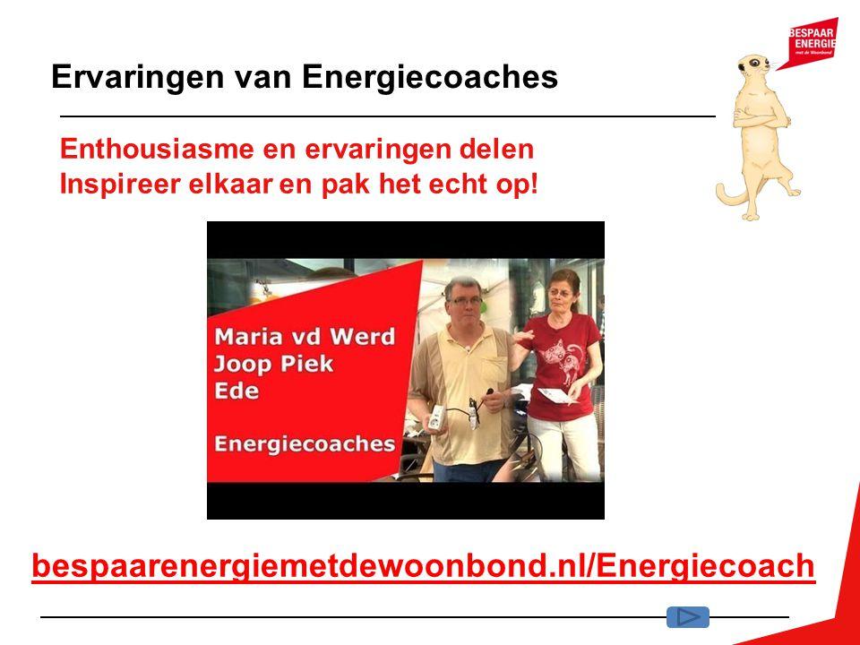 Ervaringen van Energiecoaches
