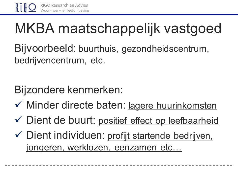 MKBA maatschappelijk vastgoed