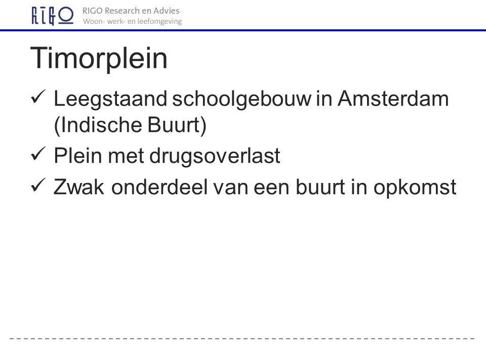 Timorplein Leegstaand schoolgebouw in Amsterdam (Indische Buurt)