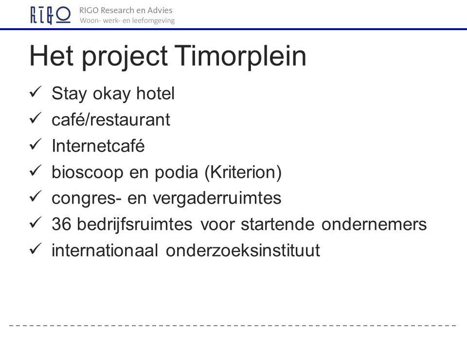 Het project Timorplein