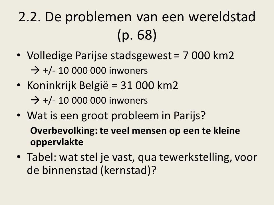 2.2. De problemen van een wereldstad (p. 68)