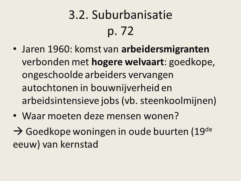 3.2. Suburbanisatie p. 72