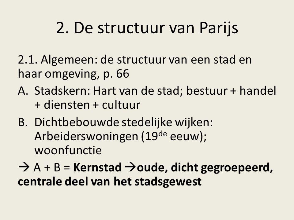 2. De structuur van Parijs