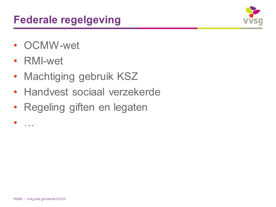 Machtiging gebruik KSZ Handvest sociaal verzekerde