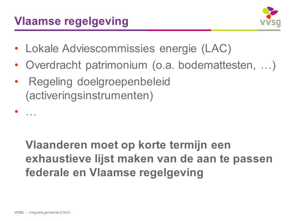 Lokale Adviescommissies energie (LAC)