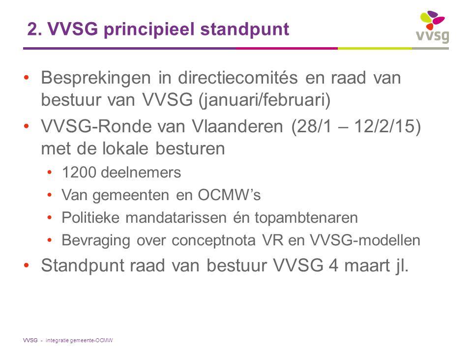 2. VVSG principieel standpunt