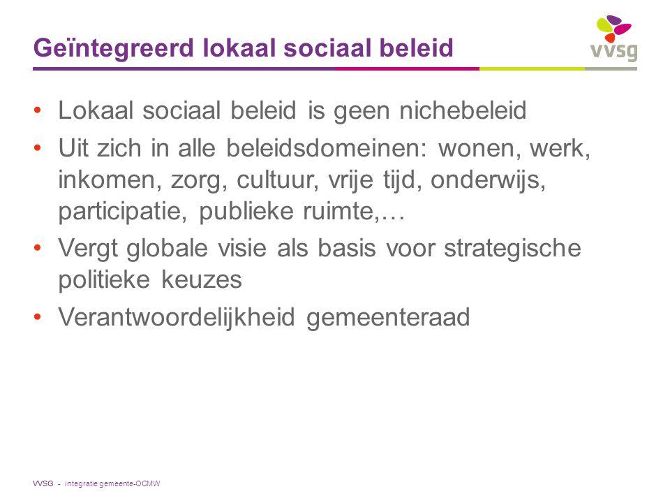 Geïntegreerd lokaal sociaal beleid