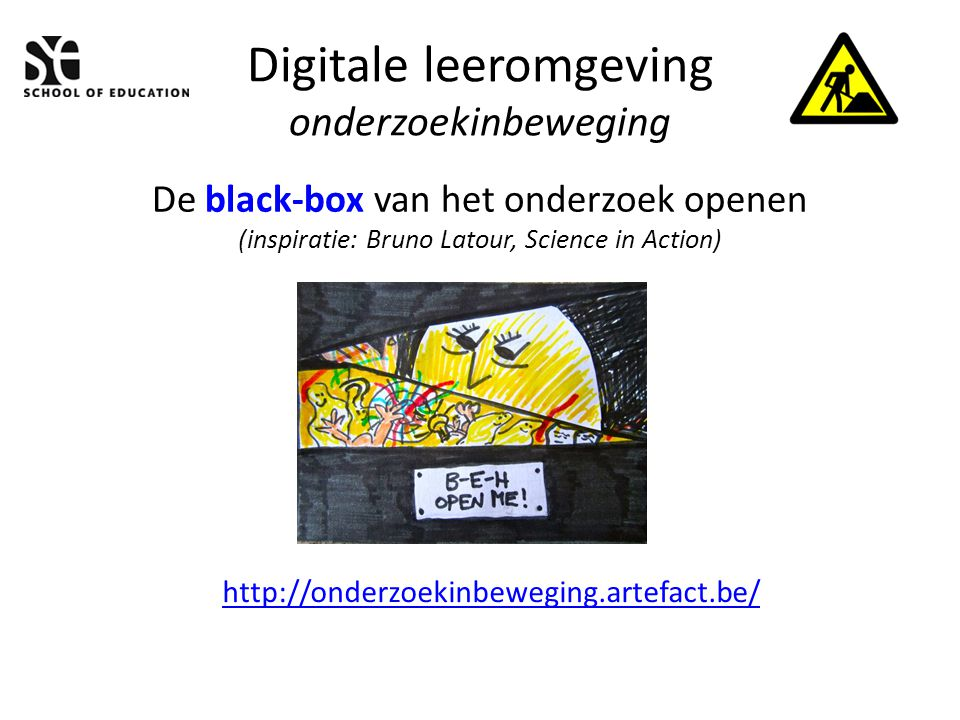 Digitale leeromgeving onderzoekinbeweging