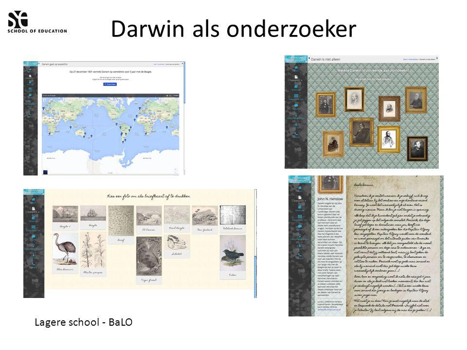 Darwin als onderzoeker