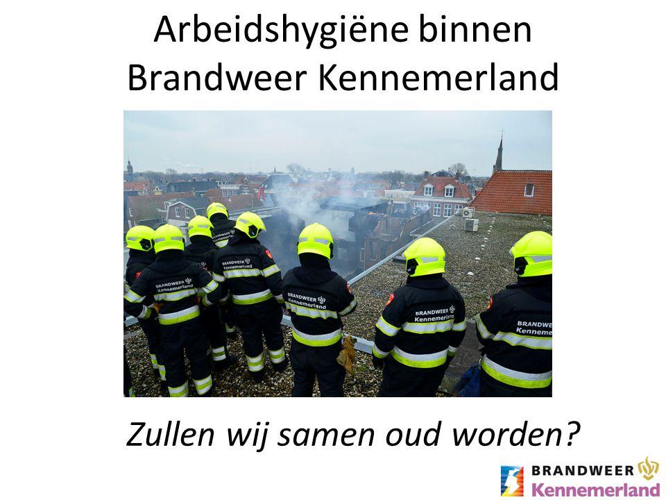 Arbeidshygiëne binnen Brandweer Kennemerland