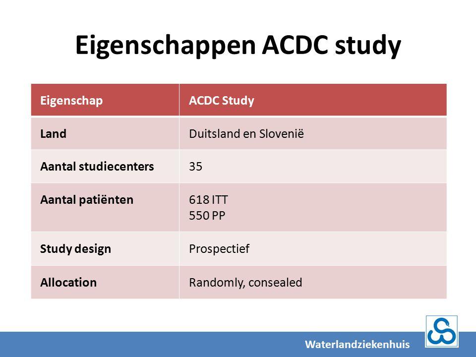 Eigenschappen ACDC study