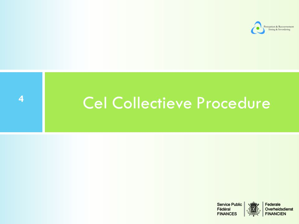 Cel Collectieve Procedure
