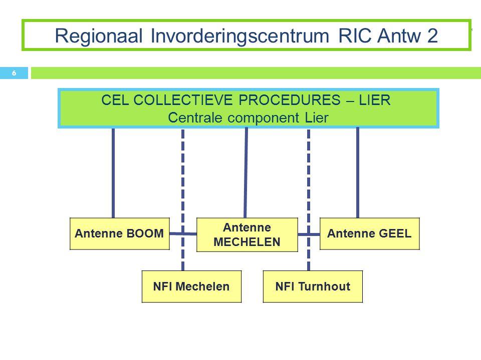 Regionaal Invorderingscentrum RIC Antw 2
