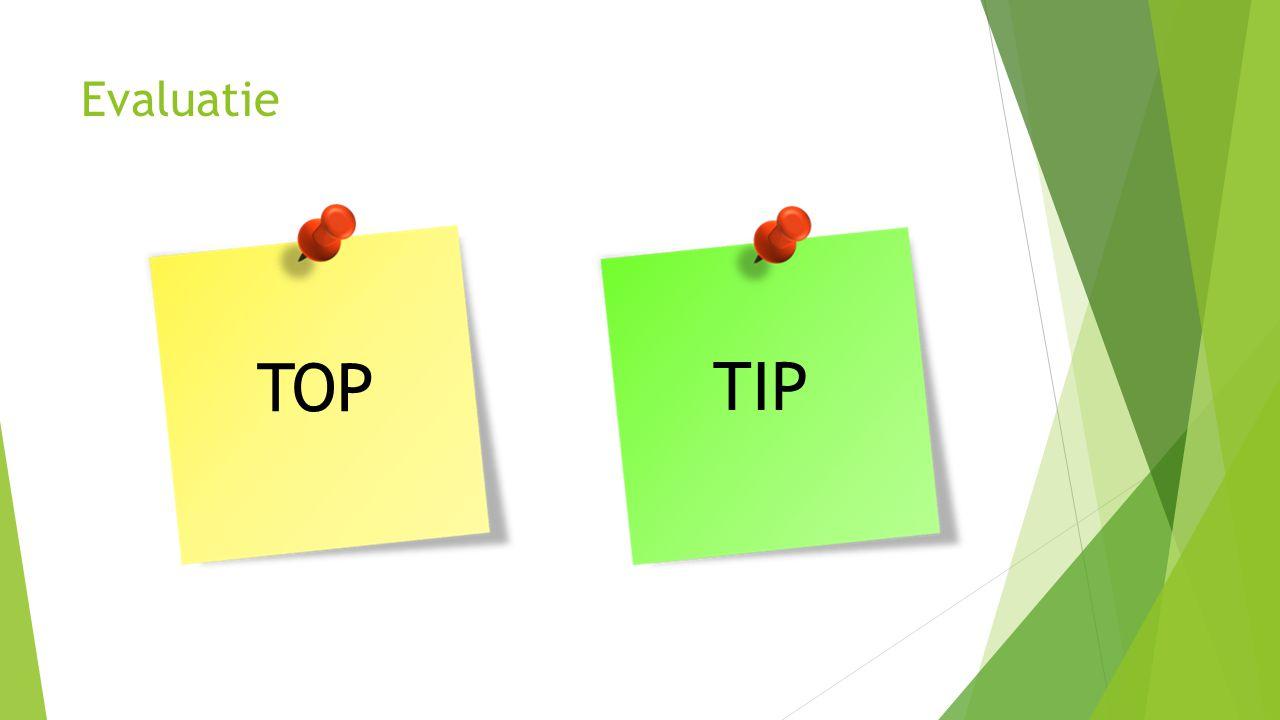 Evaluatie TOP TIP